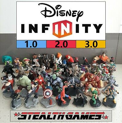 Disney Infinity Figures 1.0, 2.0, 3.0 Marvel Avengers Star Wars Rare Collection