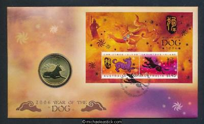 2006 Christmas Island Year of the Dog PNC