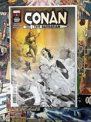Conan The Barbarian #1 (2019) Marvel NM- Ribic Premiere Variant 2 Per Store