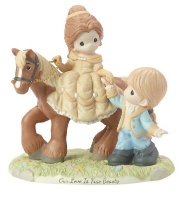 Precious Moments Disney Beauty & The Beast Belle & Prince Horse New 2019 182091