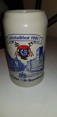 Chope a biere allemande altsdadtfest 1981