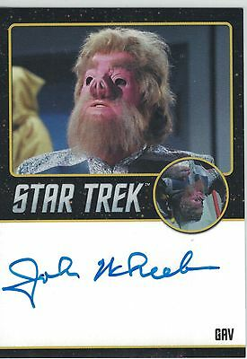 Star Trek TOS 50th Anniversary (2016) John Wheeler autograph