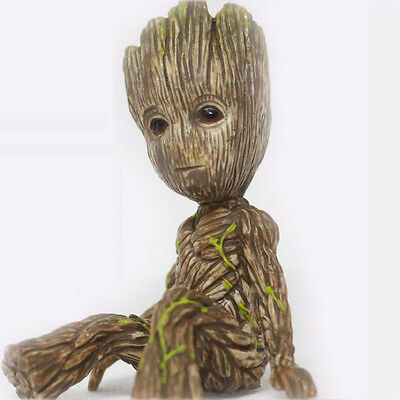 Hot !! Guardians of the Galaxy 2 Baby Groot Vinyl Cute Figure Figurine Toy Doll