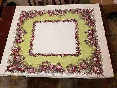 Pinecone And Needle Tablecloth