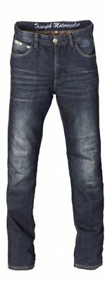 "Triumph Heritage Denim Riding Jeans inc. Knee Armour - 38"" Waist - Reg Leg"