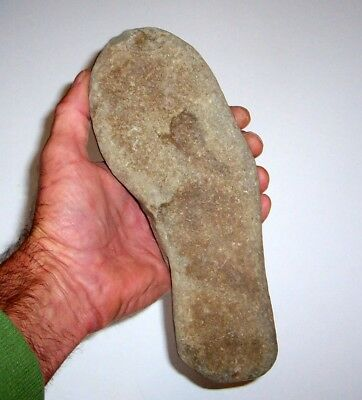 Fascinating Prehistoric Stone Artifact Foot Impression / Ancient Mud Fossil