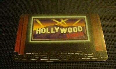 Rare Vintage 2003 Old HOLLYWOOD VIDEO Gift Card NO Value Not Redeemable