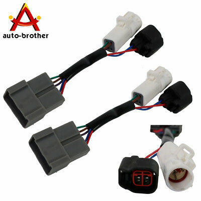 Pair Mirrors Power Heated Upgrade Harness Adapter For 2000-2001 Ford Excursion
