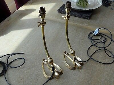 Brass Table Lamps Art Nouveau Arts & Crafts Wall Light Hanging Was Benson Lamp