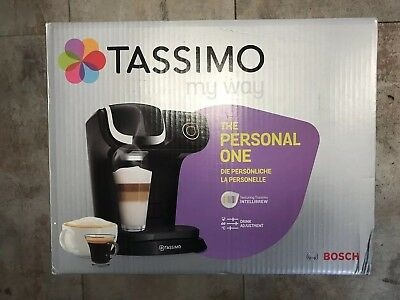 Bosch (TAS6002GB) Tassimo Coffee Machine 1.2L - Black
