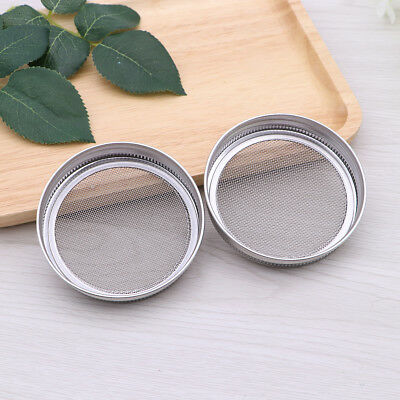 Sprouting Lids Seed Lids Sprouting Screen Stainless Canning for Jar