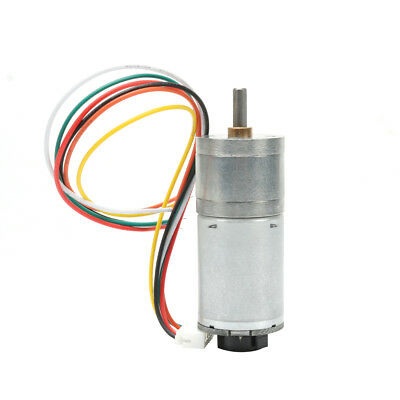 Encoder Code Disk Speed Reduction Gear Motor with Encoder Speed DC 12V