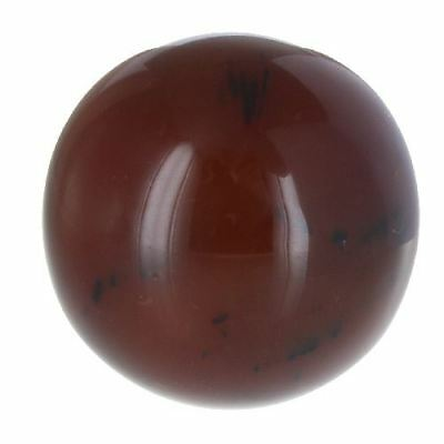 Highly Polished 45mm Crystal Spheres, Emits Natural Energy - Carnelian