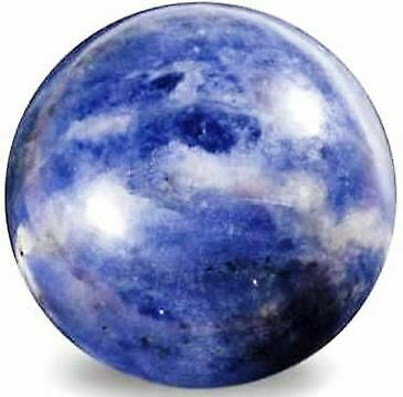 Highly Polished 45mm Crystal Spheres, Emits Natural Energy - Sodalite