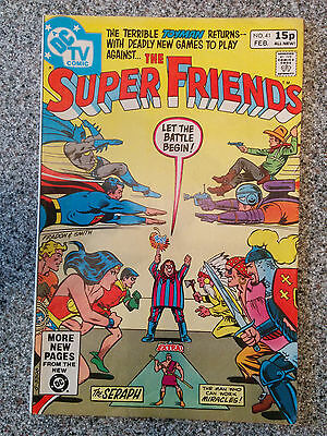 The Super Friends (DC Comics) #41  dated February 1981
