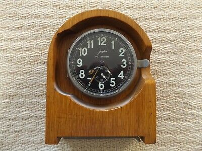 A very nice 1937 8 day German Luftwaffe communications room clock.