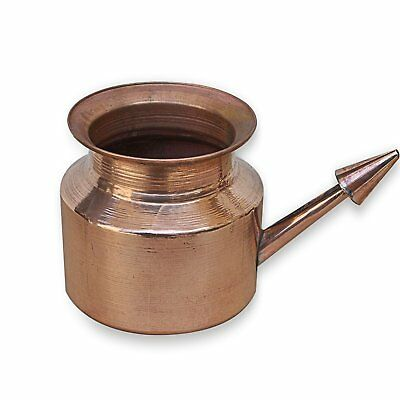 Copper Neti Pot|For Sinus Irrigation|Nostril Clean|Leak Proof|Jal Neti Pot|300ml