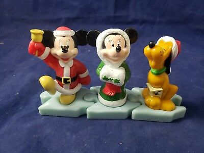 Mickeys Once Upon a xmas puzzle Figure McDonalds Happy Meal Toy Disney Set (g5)