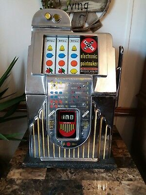 Buckley Pointmaker Criss Cross Slot Machine With Counter Parts no key for box
