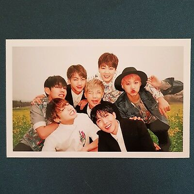 Group - Official photocard BTS Special Album Young Forever Kpop