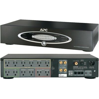 Apc 12-outlet H-type Rack-mountable Power Conditioner With Coaxial Protection AP