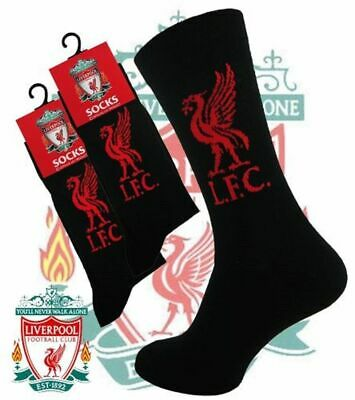 Liverpool Football socks Official Liverpool Club Football Crest Socks (UK 6-11)