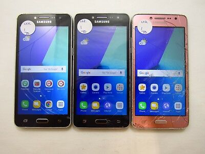 Lot of 3 Cracked Samsung Galaxy J2 Prime G532M UNK Carrier Check IMEI 5CR 1001