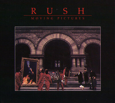 Rush - Moving Pictures (2011 Remaster)  CD+DVD  Deluxe Edition  NEW  SPEEDYPOST