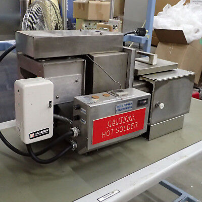 EXSELECT WAVE SOLDER MACHINE WAVE DIPPER w/ SOLDER LIKE ELECTROVERT PILLARHOUSE