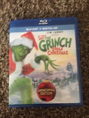How the Grinch Stole Christmas (Blu-ray Disc, 2015)