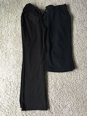 Lot of 2 Oh Baby by Motherhood Maternity Pants Sz. L