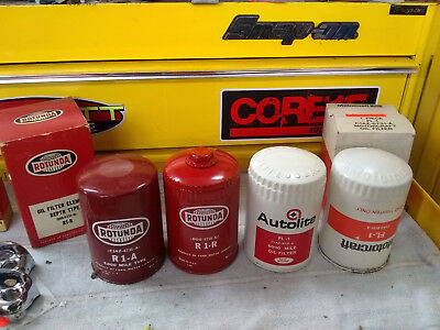 1965 1966 1967 1968 MUSTANG SHELBY NOS collection ( oil filters ) 289 hipo 427 K