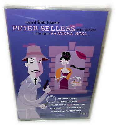 Der rosarote (Pink) Panther 5-Disc Box Set [DVD] Film Collection Deutsch(er) Ton