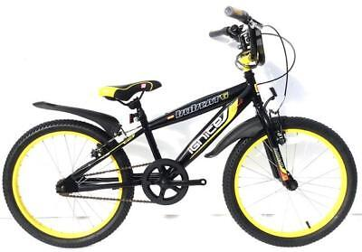 Ignite 20'' Bobcat Pavement Bike Black/Yellow