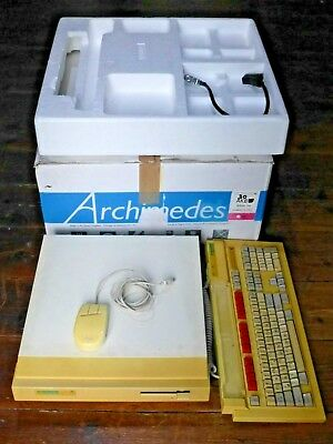 Acorn Archimedes 310 with 1MB RAM. Boxed and working.