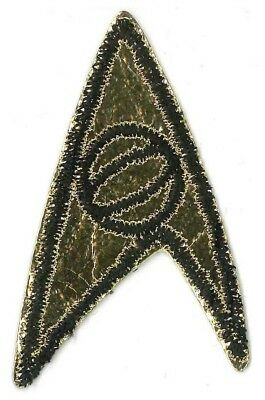 PATCH Star Trek TOS insignia Science SPOCK '70s vintage