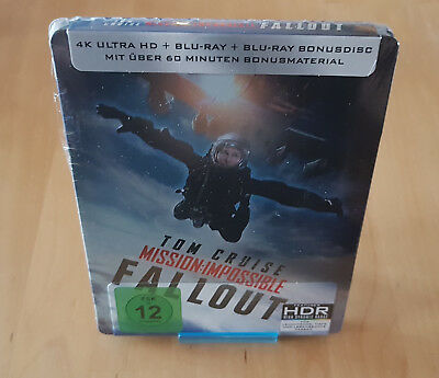 Mission Impossible:Fallout / Limited Steelbook / 4K UHD+Bluray / neu / new