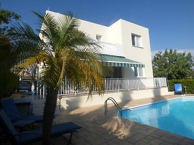 Cyprus Holiday Villa To Rent With Car: 3 Bed + Private Pool. 30th Mar-6th Apr 19