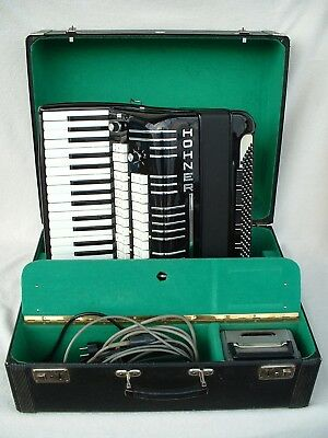 HOHNER ELECTRAVOX  DE LUXE GERMANY E VOX AKKORDEON Elektro Accordion 120 BASS RA