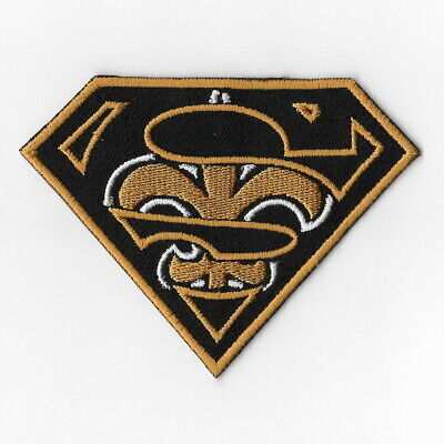 New Orleans Saints [T] Iron on Patches Embroidered Patch Badge Applique Sew FN