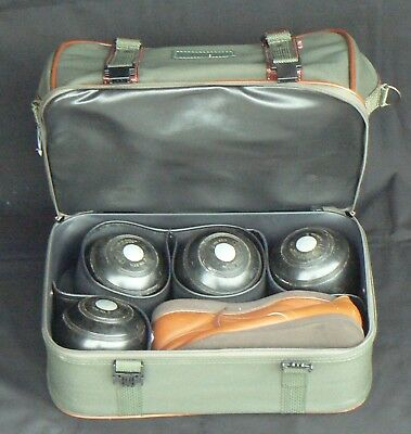 Set of 4 Thomas Taylor Bowls, Size 2, in Carry Bag