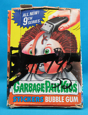 Garbage Pail Kids 9th Series Box 48 Sealed Wax Packs 1987 Topps