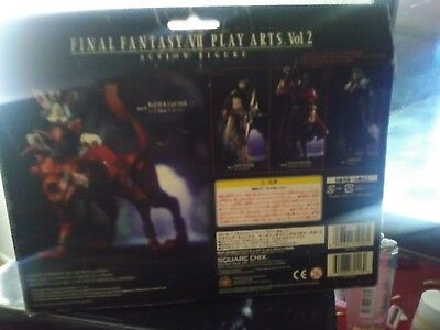 Final Fantasy VII Red XIII & Cait Sith Play Arts Action Figure Square Enix PVC