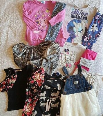 Huge Girls Outfit Bundle 18-24 Months Inc Oshkosh Myleen Klass Peppa Tatty Teddy