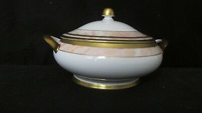 Christian Dior GAUDRON MARBRE ROSE Covered Serving Bowl