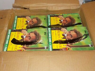1991 Topps Robin Hood Prince of Thieves Unopened Wax Box Lot of 22 Boxes Nice!