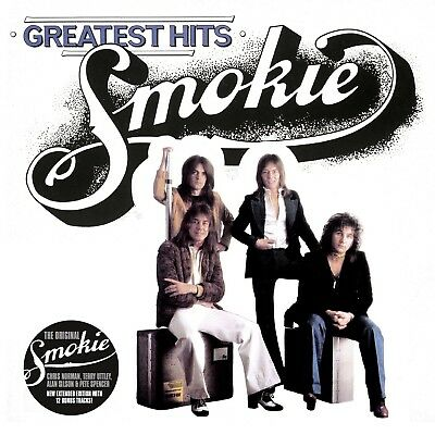 """Smokie - Greatest Hits Vol.1 """"White"""" (New Extended Version)   Cd New!"""