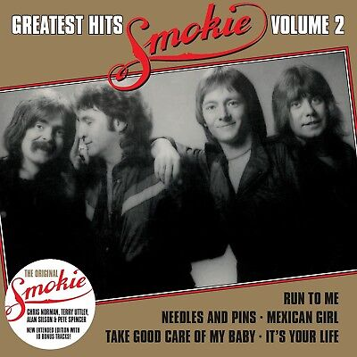 """Smokie - Greatest Hits Vol.2 """"Gold"""" (New Extended Version)   Cd New!"""