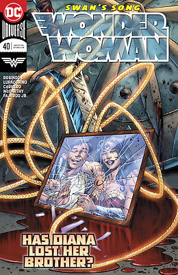 Wonder Woman #40 Dc Universe - 1St Print - Bagged And Boarded. Free Uk P+P!