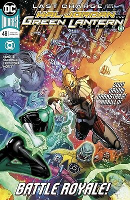 Hal Jordan And The Green Lantern Corps #48 Dc Universe - Boarded - Free Uk P+P